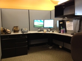 Empty Cubicle.
