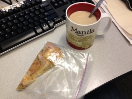 Caffeine and Sugar. Best combination EVAR.