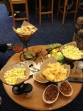 Chips, popcorn, nuts, desserts!