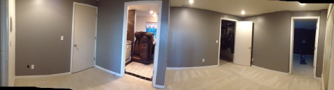 After: Lol! don't mind the couch in the bathroom :)